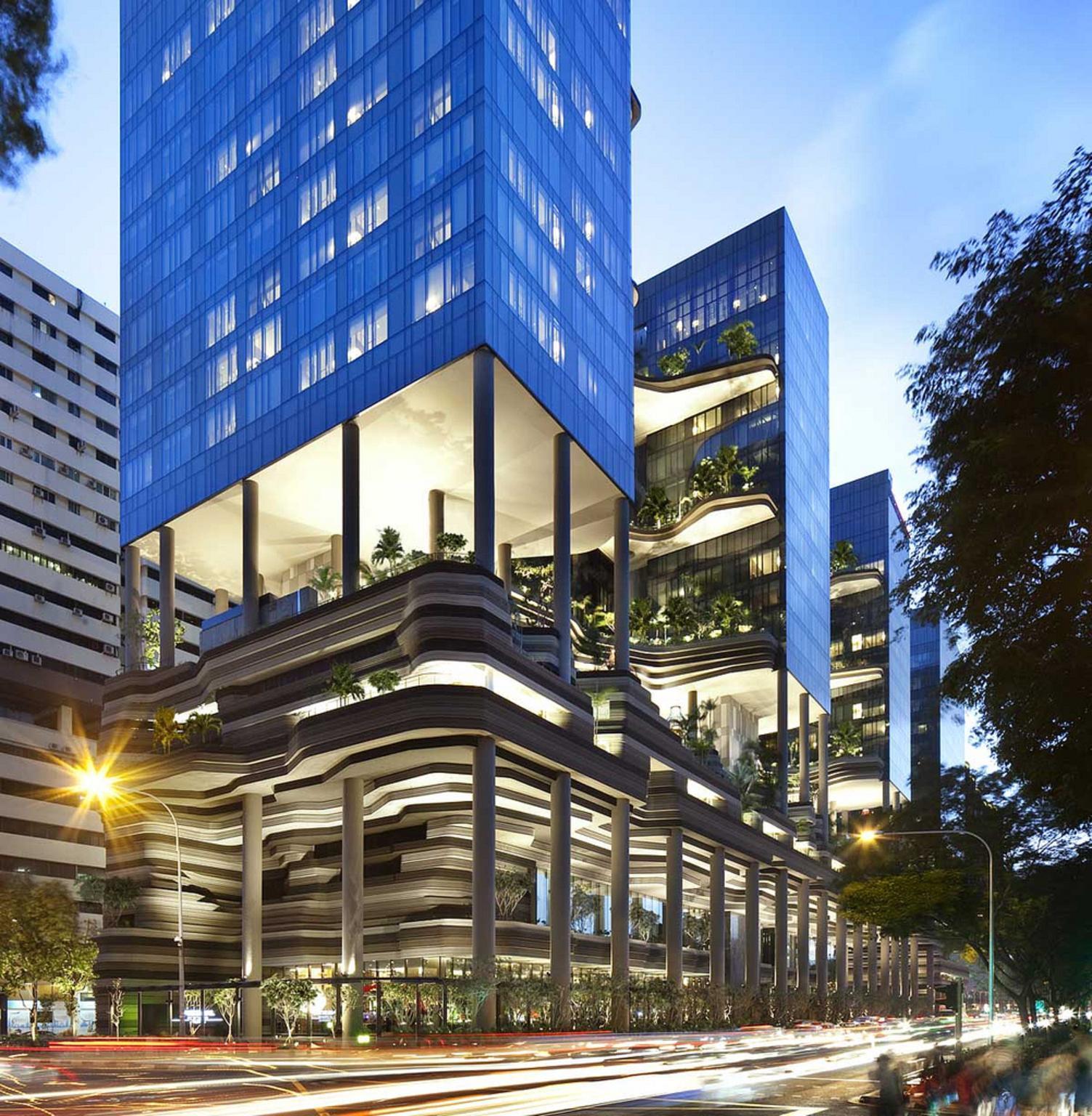 Khách sạn PARKROYAL / WOHA Architects