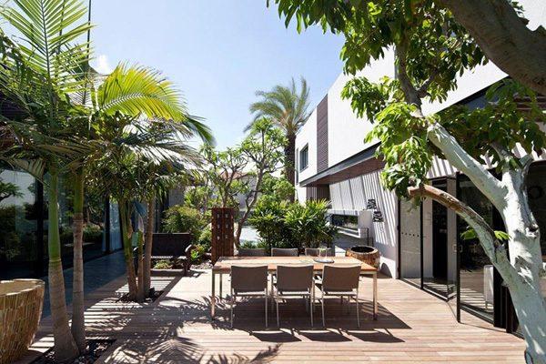 1111 Tel Aviv: Biệt thự lãng mạn và sang trọng tại Israel qpdesign