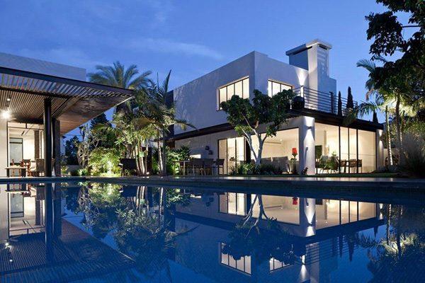 155 Tel Aviv: Biệt thự lãng mạn và sang trọng tại Israel qpdesign