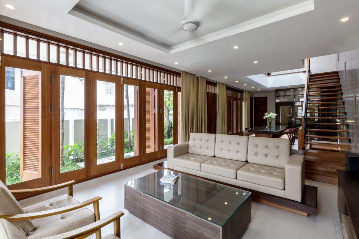 VMhouse interiors 2k resize Ngôi nhà với vườn cây bốn mùa xanh mát tại Hà Nội qpdesign