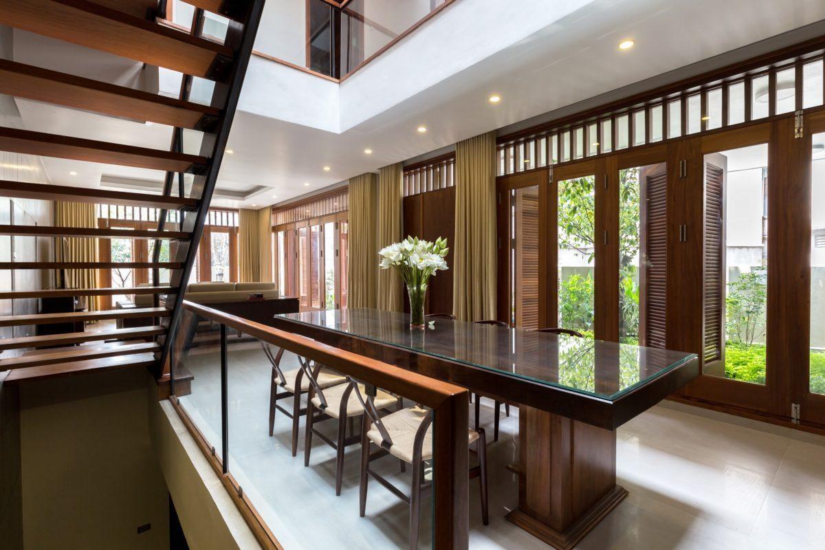 VMhouse exteriors 10k resize Ngôi nhà với vườn cây bốn mùa xanh mát tại Hà Nội qpdesign