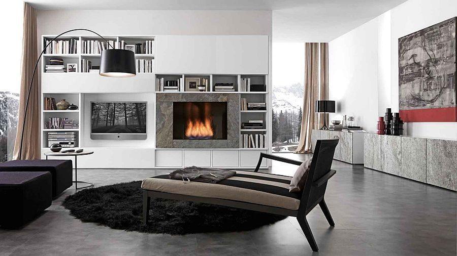 kệ phòng khách 11 15 mẫu kệ đứng cho phòng khách của bạn qpdesign