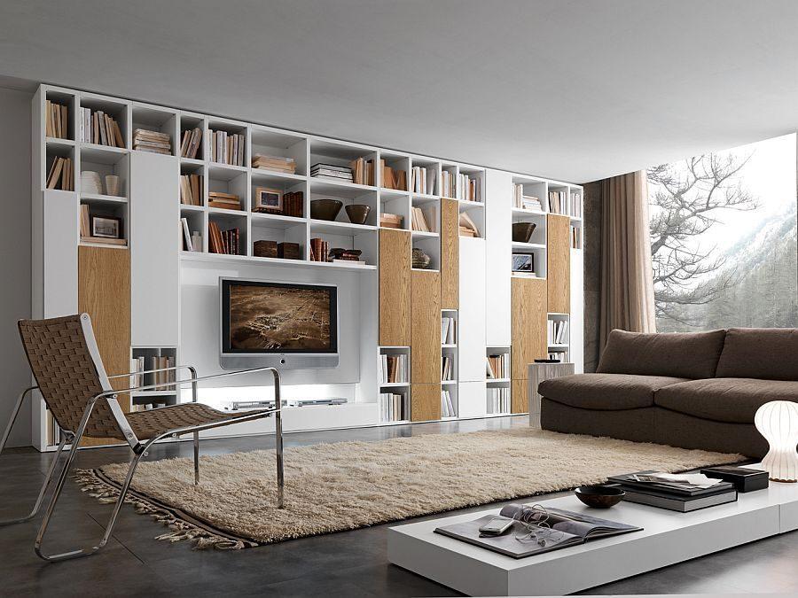 kệ phòng khách 4 15 mẫu kệ đứng cho phòng khách của bạn qpdesign