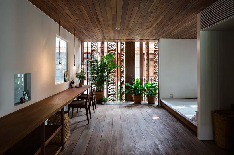 nha dep 11 Nhà phố 325m² với thiết kế hòa quyện với thiên nhiên tại Sài Gòn qpdesign