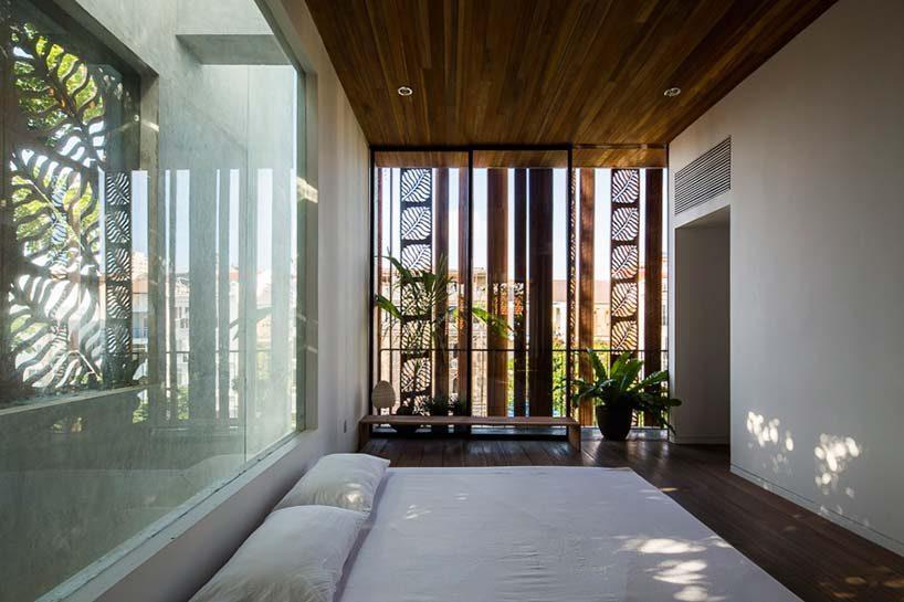 nha dep 12 Nhà phố 325m² với thiết kế hòa quyện với thiên nhiên tại Sài Gòn qpdesign