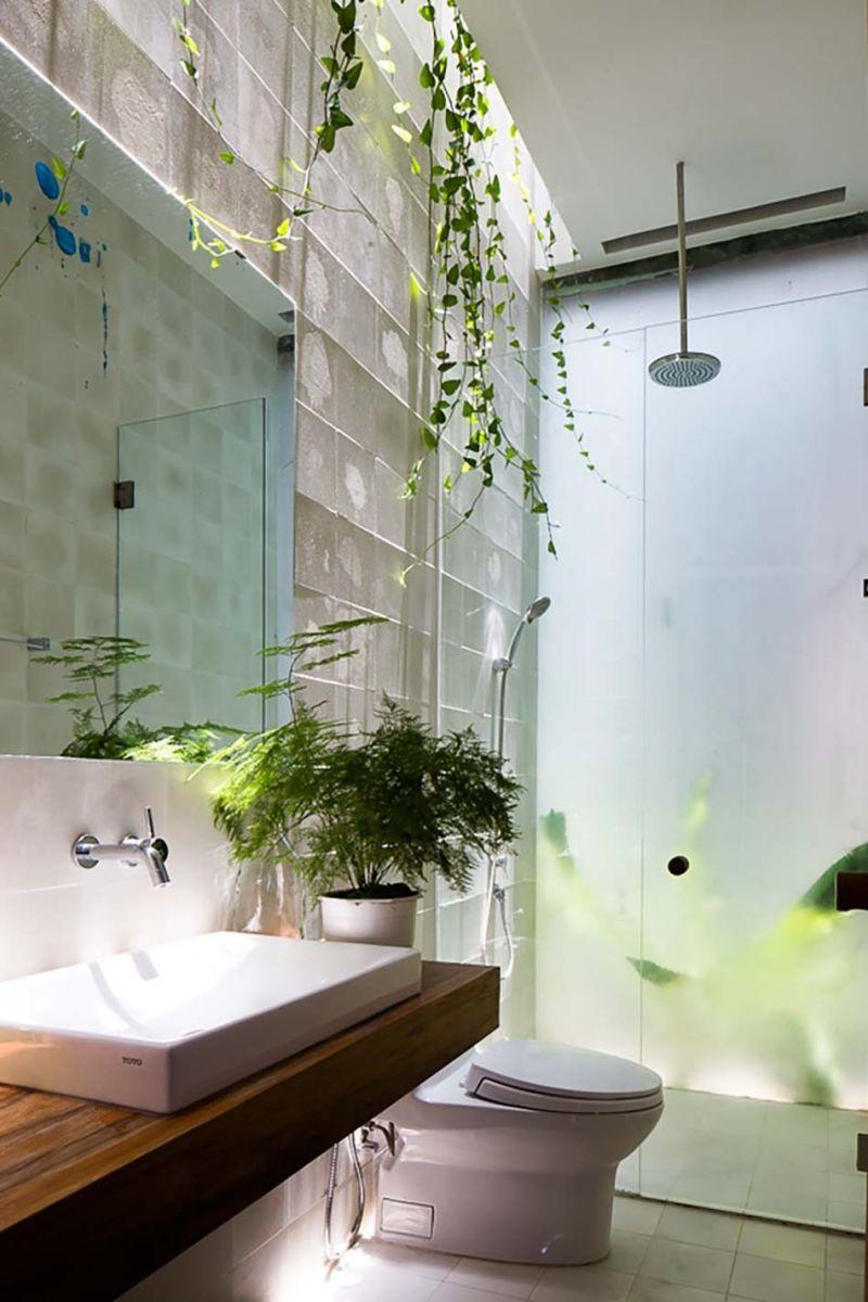 nha dep 13 Nhà phố 325m² với thiết kế hòa quyện với thiên nhiên tại Sài Gòn qpdesign