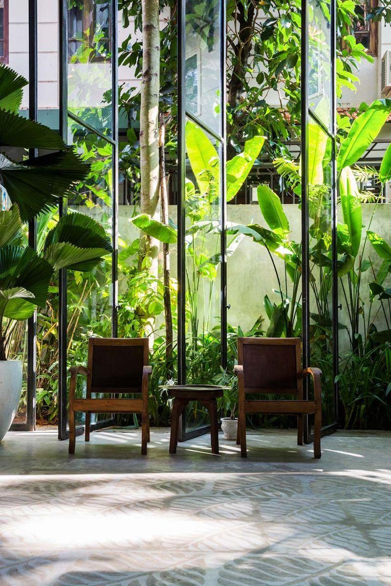 nha dep 3 Nhà phố 325m² với thiết kế hòa quyện với thiên nhiên tại Sài Gòn qpdesign