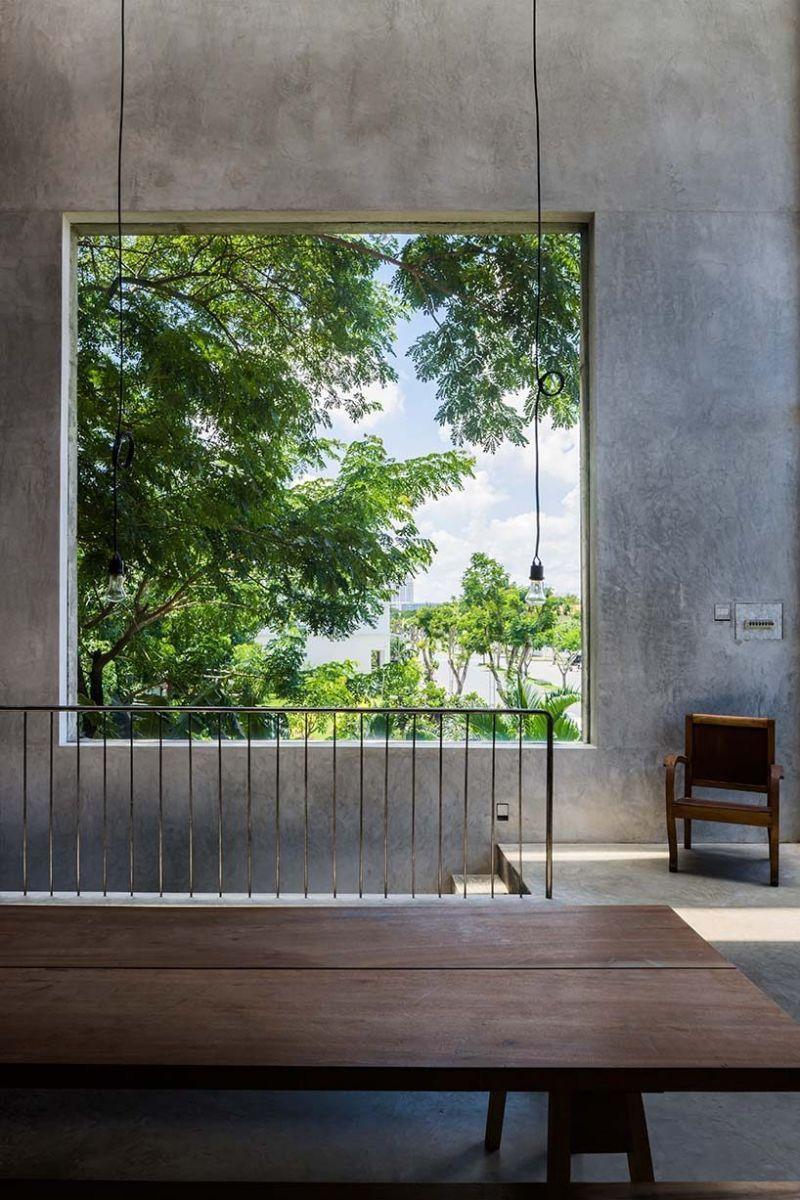 nha dep 6 1 Nhà phố 325m² với thiết kế hòa quyện với thiên nhiên tại Sài Gòn qpdesign