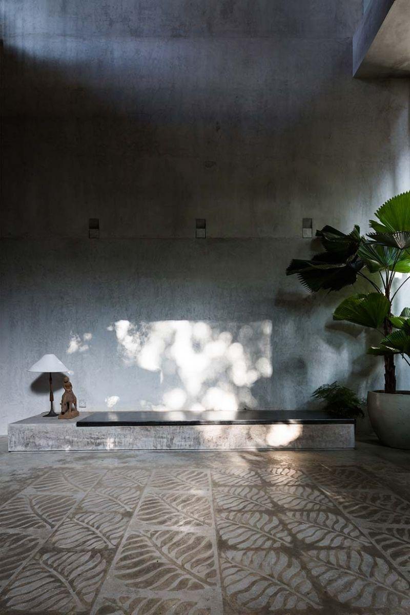 nha dep 9 Nhà phố 325m² với thiết kế hòa quyện với thiên nhiên tại Sài Gòn qpdesign