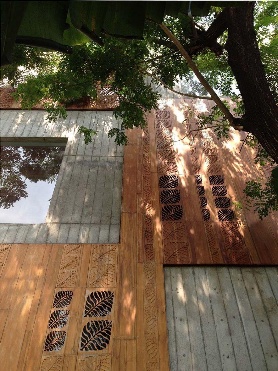v Nhà phố 325m² với thiết kế hòa quyện với thiên nhiên tại Sài Gòn qpdesign